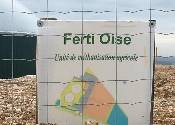 Site de Ferti Oise à Coudun, en Picardie