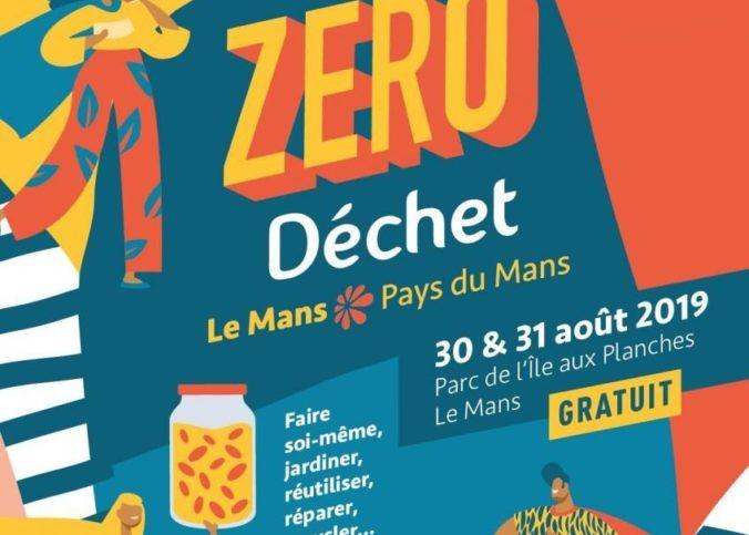 L'affiche du Festival zéro déchet .